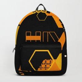 deus ex human evolution hive Backpack