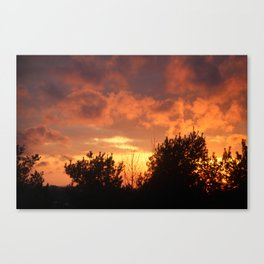 Sunsets of Summer Canvas Print