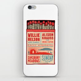 Willie Nelson And Family   iPhone Skin