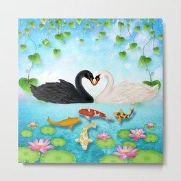 Heart of swans #6 Metal Print