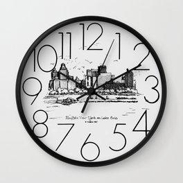 Buffalo By AM&A's 1987 Wall Clock