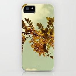 Nature Vintage iPhone Case
