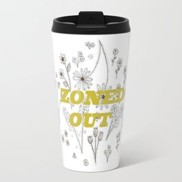 Zoned Out II - With Text Travel Mug