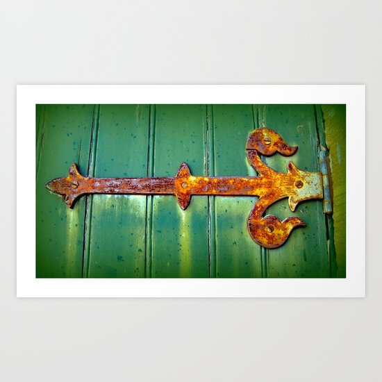 Church Hinge Art Print