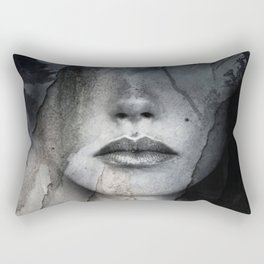Complete absence of sound Rectangular Pillow