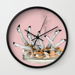 Ciggie Legs Wall Clock
