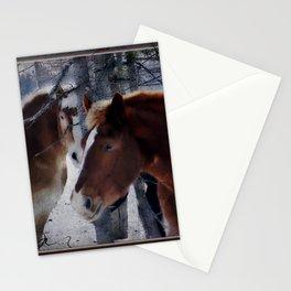 Mackinaw Island Horses Stationery Cards