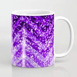 Zig Zag Sparkley Texture G229 Coffee Mug