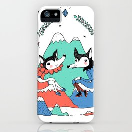 The Talk iPhone Case