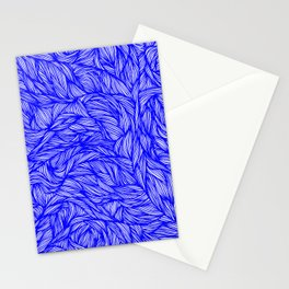 Surreal Cobalt Stationery Cards