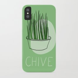 Chive iPhone Case