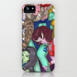 DD Girls iPhone Case