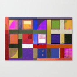 Downe Burns - Tripping On Life VI Canvas Print