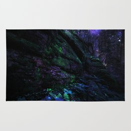 Midnight Enchantment : Forest Wall Rug