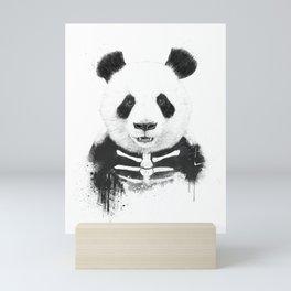 Zombie panda Mini Art Print