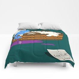 SUICIDAL SMURF  Comforters