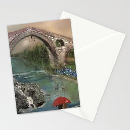 The Roman Bridge, Asturias  Stationery Cards