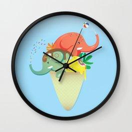 summer cone Wall Clock