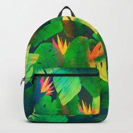 Tropical Leaves 13 Backpack