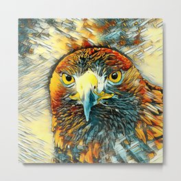 AnimalArt_Eagle_20170602_by_JAMColorsSpecial Metal Print