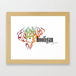 hooligan Framed Art Print