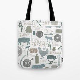 Modern Farmhouse // Gather Round & Give Thanks Tote Bag