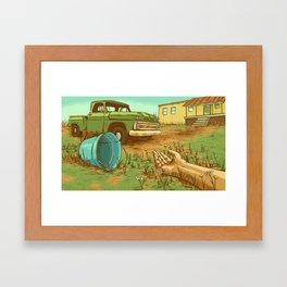 Jack & Jill Framed Art Print