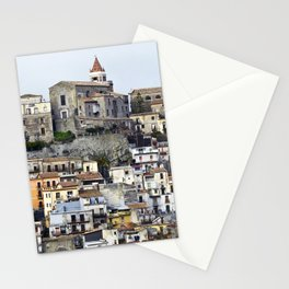 Urban Landscape - Cathedral - Sicily - Italy Stationery Cards