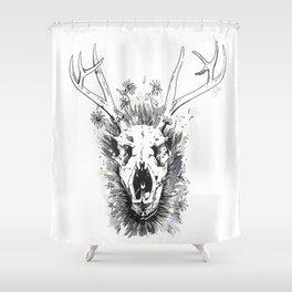 Till Death Do Us Part Shower Curtain