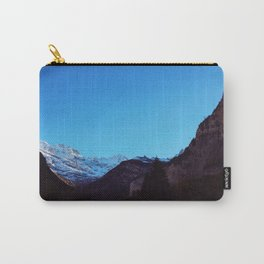 Swiss Alps From Below Carry-All Pouch