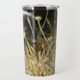 Release of a Young Skunk Travel Mug