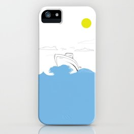 Cruise iPhone Case