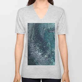 Earth Topography Unisex V-Neck