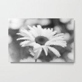 #Daisy #mosaic Metal Print
