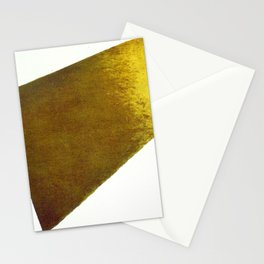 Kazimir Malevich Yellow Plane in Dissolution Stationery Cards