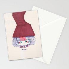Owl lady wannabe Stationery Cards