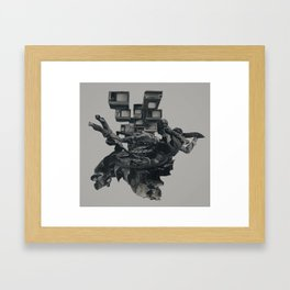 The Racist Undercurrent Maintains Paranoia Framed Art Print