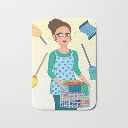 House Chores Bath Mat