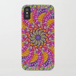 Pinwheel 3 iPhone Case