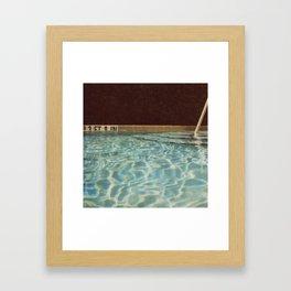 Three Feet Eight Inches Framed Art Print