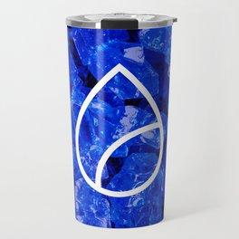 Lapis Lazuli Candy Gem Travel Mug