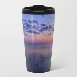 Dead Calm Sunset on the Sound Travel Mug