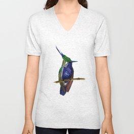 Green-crowned Plovercrest Unisex V-Neck