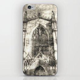 St Giles Cathedral Edinburgh Vintage iPhone Skin