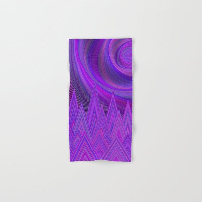 Purple mountains Hand & Bath Towel