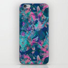 Geometric Floral iPhone Skin