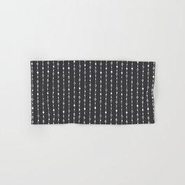 Lines, Dots and Circles - Hand Drawn Illustration, Abstract Pattern Hand & Bath Towel
