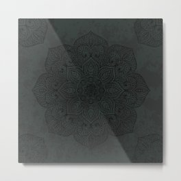 Vintage Mandala Metal Print