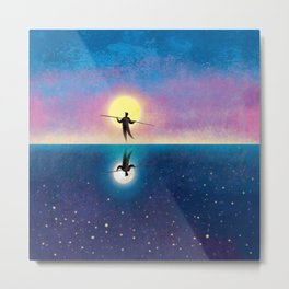 The Tightrope Walker 2 Metal Print