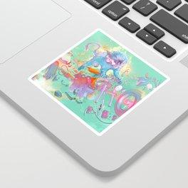 Pretty when you cry Sticker